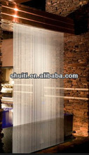 Fiberglass Waterfall, Room Divider Landscape, Long Water Curtain Indoor Water Fall