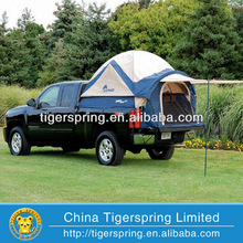 Customized tent truck camper