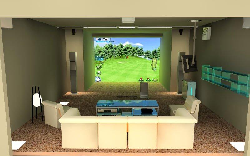 Home Product Categories Ungrouped Albatross Screen Golf Simulator