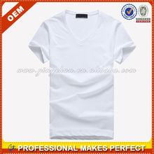 Wholesale cheap OEM promotional plain t shirts for men(YCT-A0033)