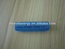 Hot Sale 3.2v 1500mah LiFePO4 18650 battery / battery 18650