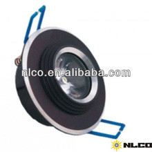 1w decorative led downlight 80mm