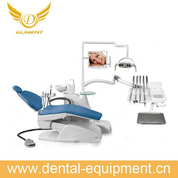 Dental modelo de estudio / ortodoncia brackets cerámicos / dental retenedores