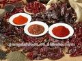frío de color rojo pimientos