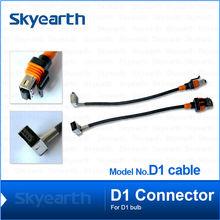 dubai auto parts supplier hid xenon kit hid cable for D1C/ D1S/ D1R