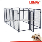 5' x 10' x 4' Heavy duty welded tubing dog carriers