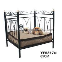 Luxury metal craft standard wholesale pet beds