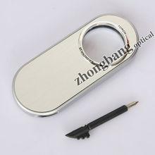 8x LED pocket magnifier with pen