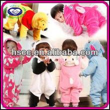 Super cute China Designer Comfortable Wholesale Animal Baby Onesie