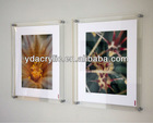 High quality wall mount acrylic document holder ,wall mounted acrylic photo frames