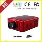 portable mini av led projector- - HDMI, VGA, S-Video, AV, USB