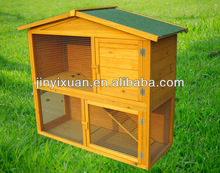 Popular 2 story rabbit hutch with ramp / rabbit house / wholesale rabbit hutches