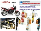 Modified rear shock for Honda CB400