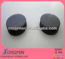 anisotropic permanent round shape fridge sticker rubber magnet