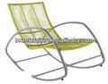 2014 nuevo producto!! Mecedora silla de la rota/de hierro silla de mimbre