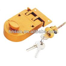 Good quality power coating latch parts rim door lock guard