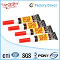 De plástico para/madera/de metal, lleno de aluminio, pcs 12/de tarjeta de super pegamento
