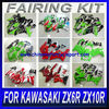 For KAWASAKI ZX6R ZX10R Motorcycle Fairing Kit