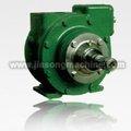 oil vacuum pump / 2.5'' vanes oil pump / positive displacement pump
