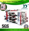 YT-41000 4 colore la machine d'impression complètement automatique de sachet en plastique de flexo pour des sachets en plastique