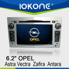 2DIN Opel Car Radio With Radio/RDS/SD/Ipod/Bluetooth/SWC/GPS/External Mic/CANBUS