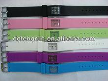 Fashion silicone chinese watch movements