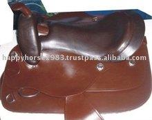 western saddle horse riding