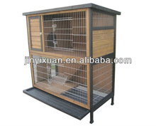 Double layers rabbit cage with Extra roomy / Pet house / rabbit hutch with ramp