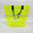 Transparent plastic pvc beach bag with logo
