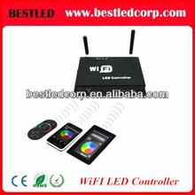 LED WiFi RGB dimmer & brightness control