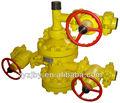 estándar de petróleo y gas en boca de pozo