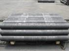 Vibrated graphite rod