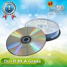 Guangzhou factory no brand cheap dvd+r dl