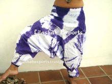 TD2100 Cotton Hand Tie Dye Batik Harem Alibaba Pant Ropa India moda hindu beachwear cloth pant dress kaftan tops garments