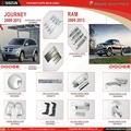 Shizun de piezas de automóviles dodge journey ram accesorios 2009-2013