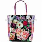 trendy full printed plastic shopping bag