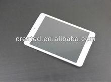 tablet pc 7.85 inch quad core android 4.4 3g gps bluetooth phone call/FM/dual camera/dual sim card slot