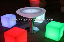 Garden Lighting LED Furniture Light/LED cube/table