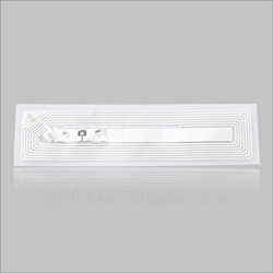 13.56MHz/915MHz Paper/PET/PVC/ABS RFID Paper label adhesive for Inventory system