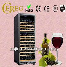 168-bottle full aluminum glass door wine cooler refrigerators coolers wine