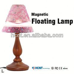 Hot sale ! Magnetic decoration lamp ,fibre decor wall coating