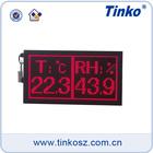 Dot matrix led temperature humidity date time display,clock alarm digital