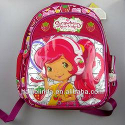 New design Girl's Cartoon School Bag Children Backpack