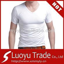 Slim Fit V-Neck Wholesale T shirt