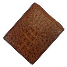 Luxury designer wallet genuine croco leather brand wallet