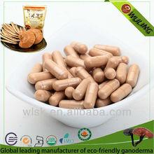Health Product Reishi/Ganoderma Capsule (300mesh&350mesh)