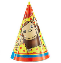 Curious George Party Hats