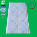 Pvc panneau de plafond en pvc pour la décoration intérieure/pvc panneau de plafond