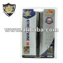 Lab Certified Streetwise 18% Pepper Spray PEN 1/2 oz BLACK
