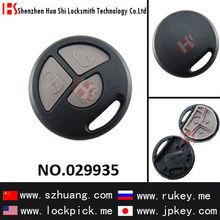 car 3 button remote key shell(without logo)